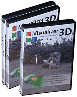 The Visualizer 3D software comes in a full featured DVD-Box.